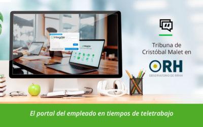 El Portal del empleado, base de la cultura corporativa en tiempos de teletrabajo