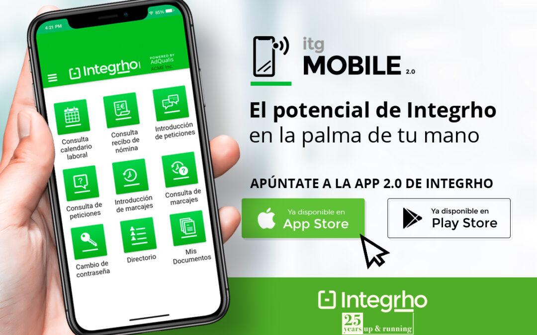 itg/MOBILE 2.0 ahora también disponible en App Store de Apple